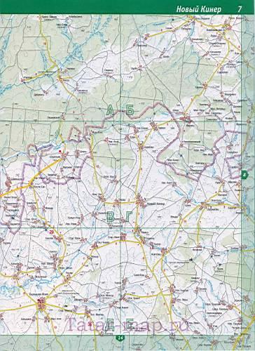 Спутниковая карта автодорог