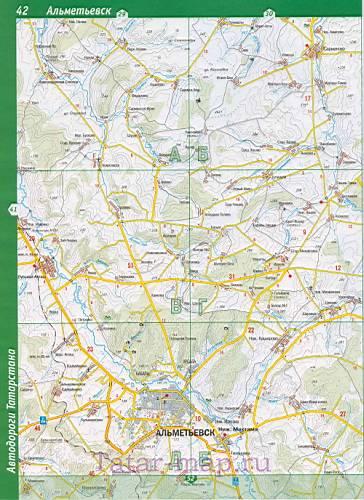 подробная карта автодорог.