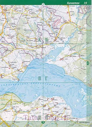 Казань – Карта Казани.